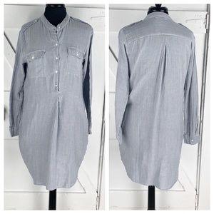 Velvet by Graham Spencer Striped ShirtDress